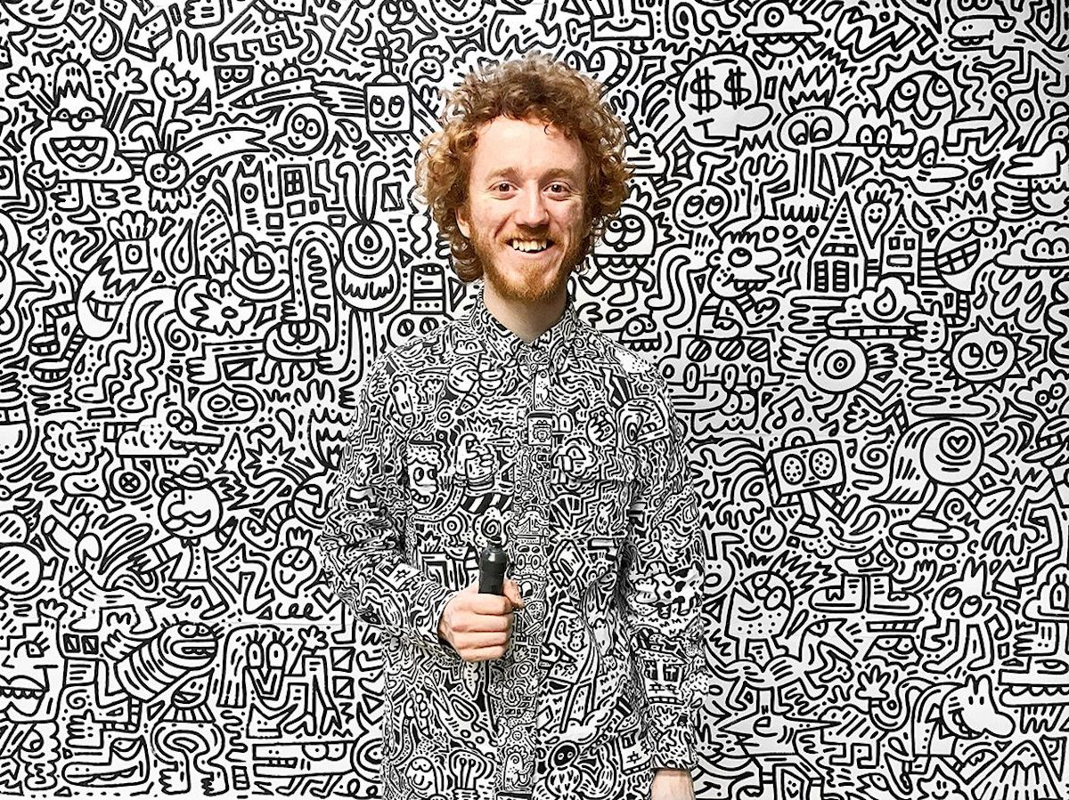 Mr. Doodle and His Doodle Art
