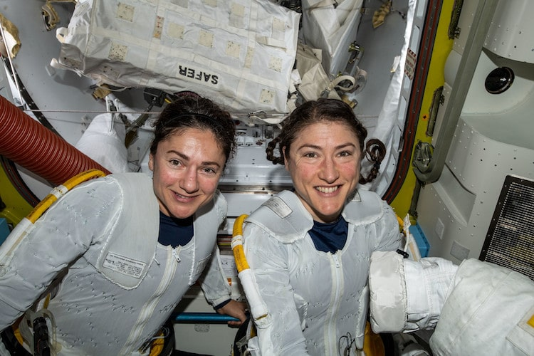 NASA Female Spacewalk