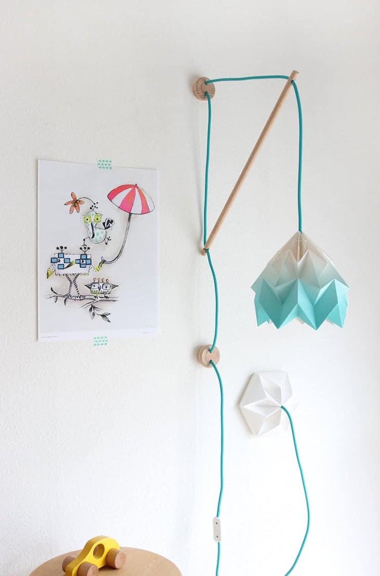Origami Wood Lamp