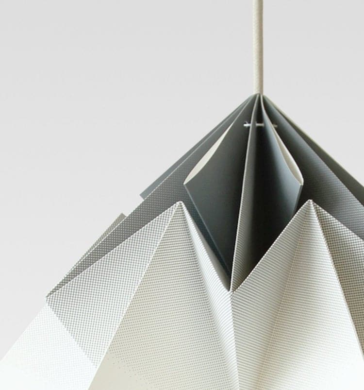 3D Origami Lamp by Studio Snowpuppe