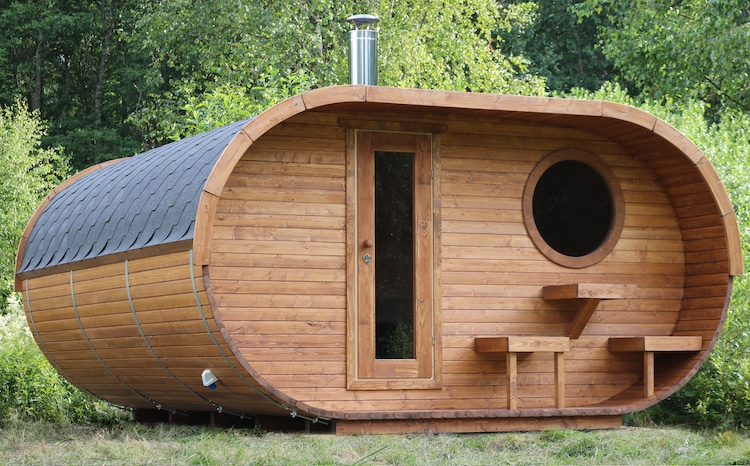 Outdoor Sauna Kits by BZB Cabins and Outdoors