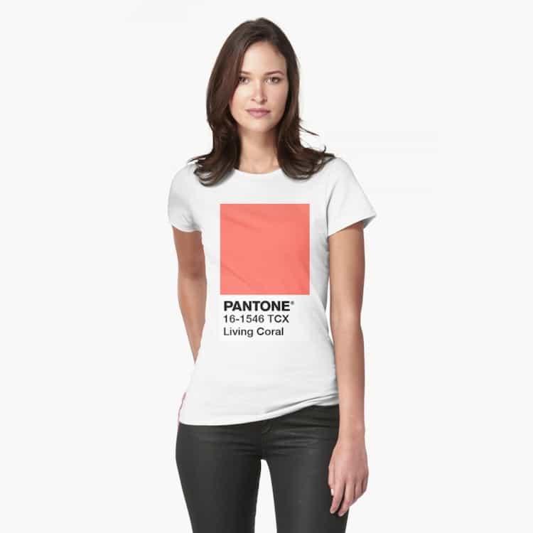 Living Coral Pantone T-Shirt