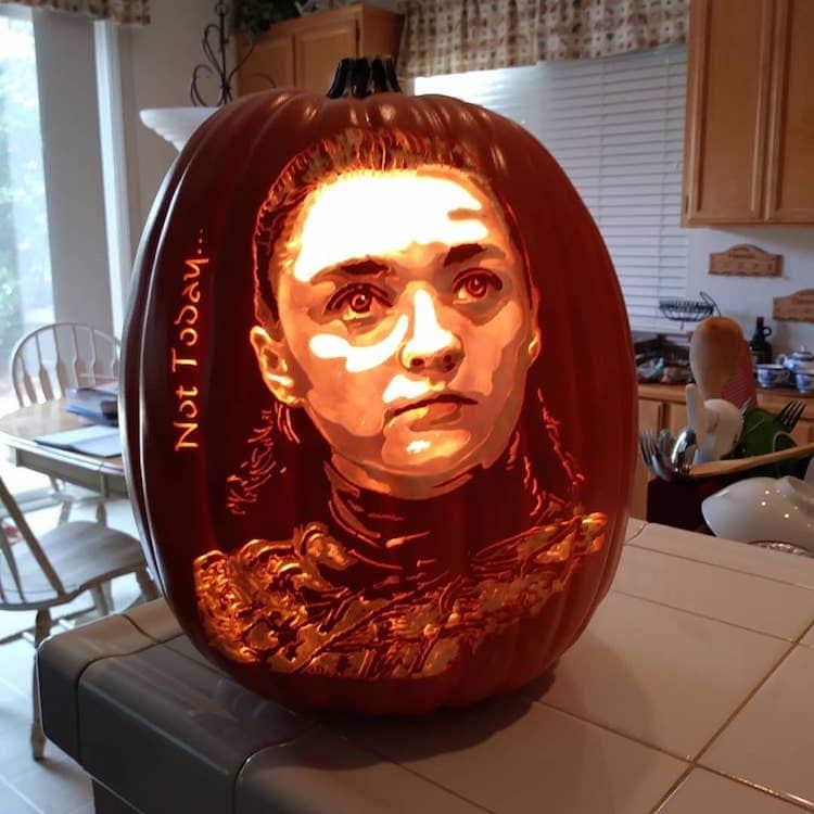 Calabazas decoradas de Alex Wer aka The Pumpkin Geek