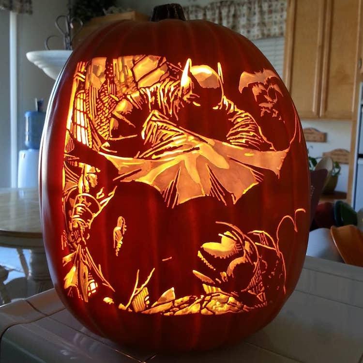 Calabazas talladas de Alex Wer aka The Pumpkin Geek