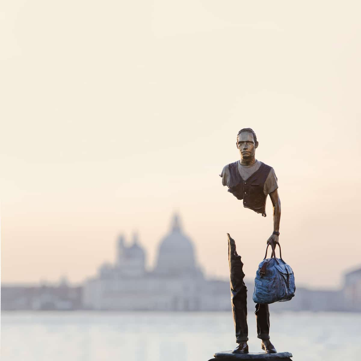 'The Travelers' by Bruno Catalano