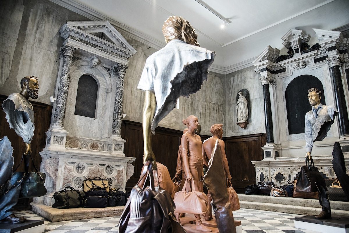 Bruno Catalano Installation in Church of San Gallo