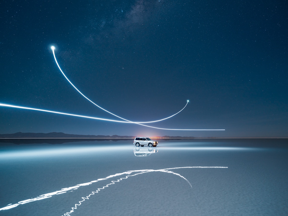 Light Painting by Reuben Wu