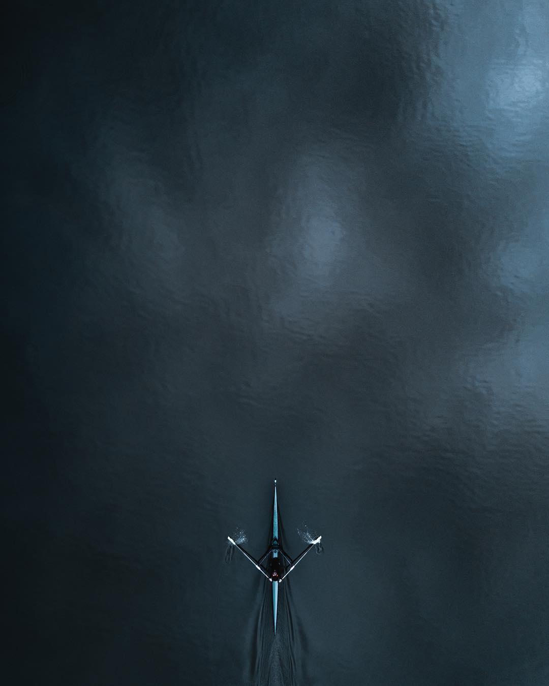 dramáticas imágenes aéreas