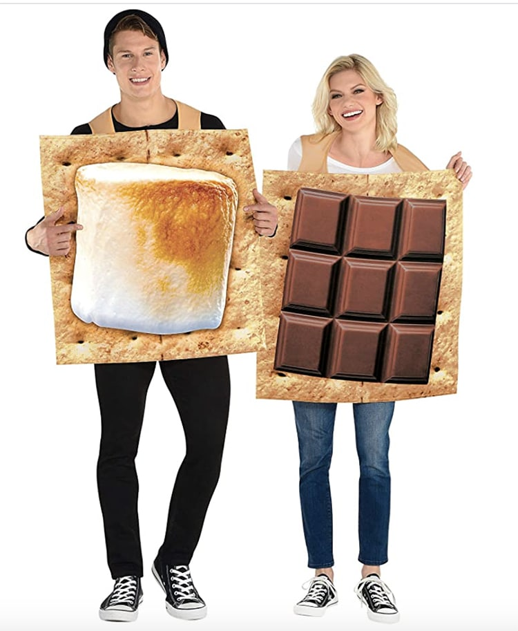 S'Mores Snack Couples Costume
