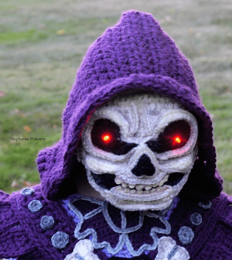 disfraces de halloween de crochet