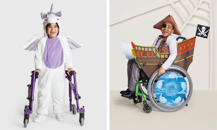 Inclusive Halloween Costumes for Disabled Kids