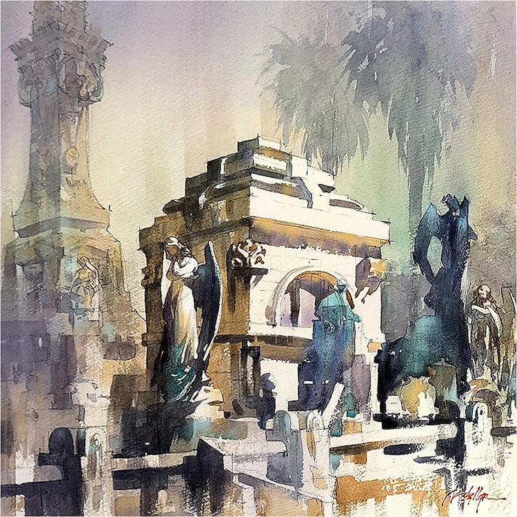 pinturas de arquitectura