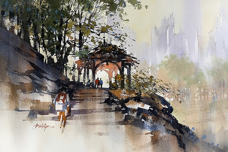 Architecture Paintings by Thomas Schaller
