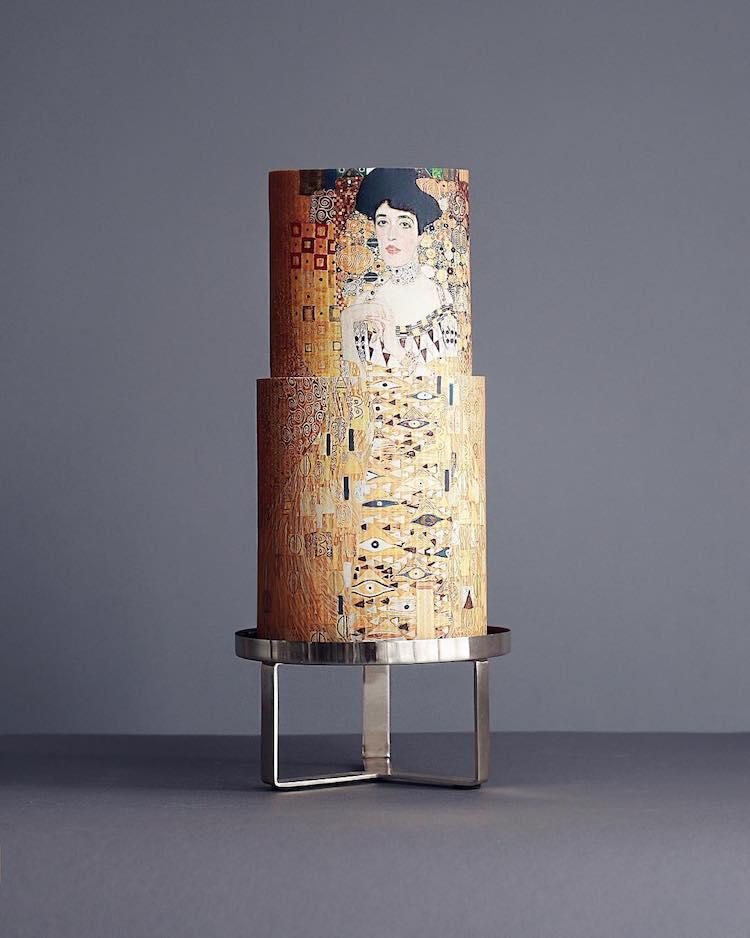 Pastel de Klimt por Tortik Annushka