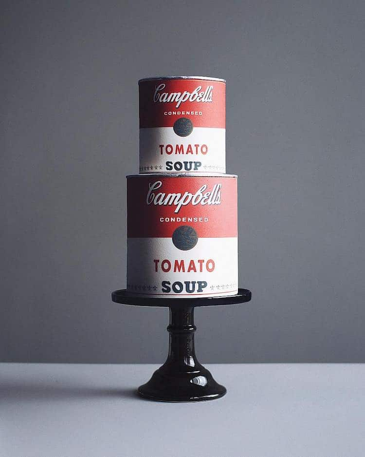 Pastel de Andy Warhol por Tortik Annushka