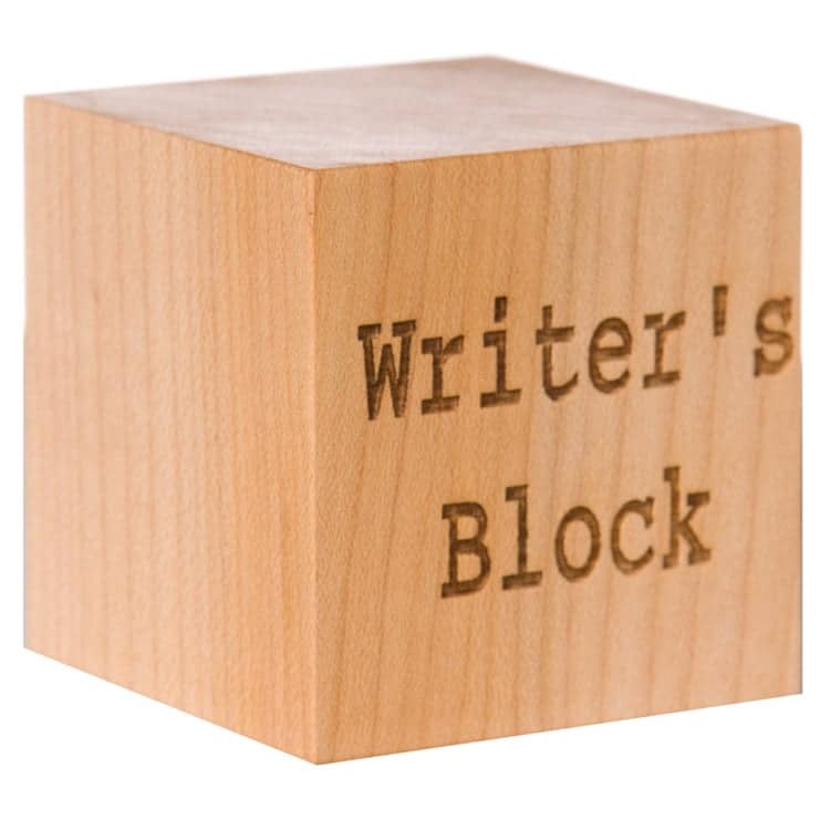 Writer's Block Desk Accessory