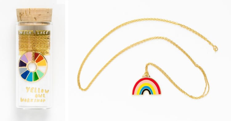 Rainbow Accessories by Yellow Owl Workshop