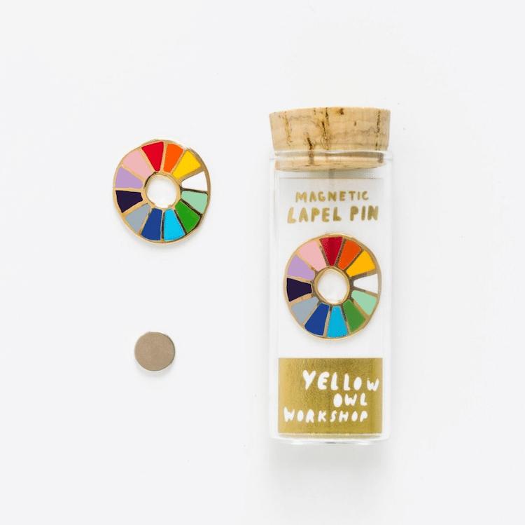 Color Wheel Pin