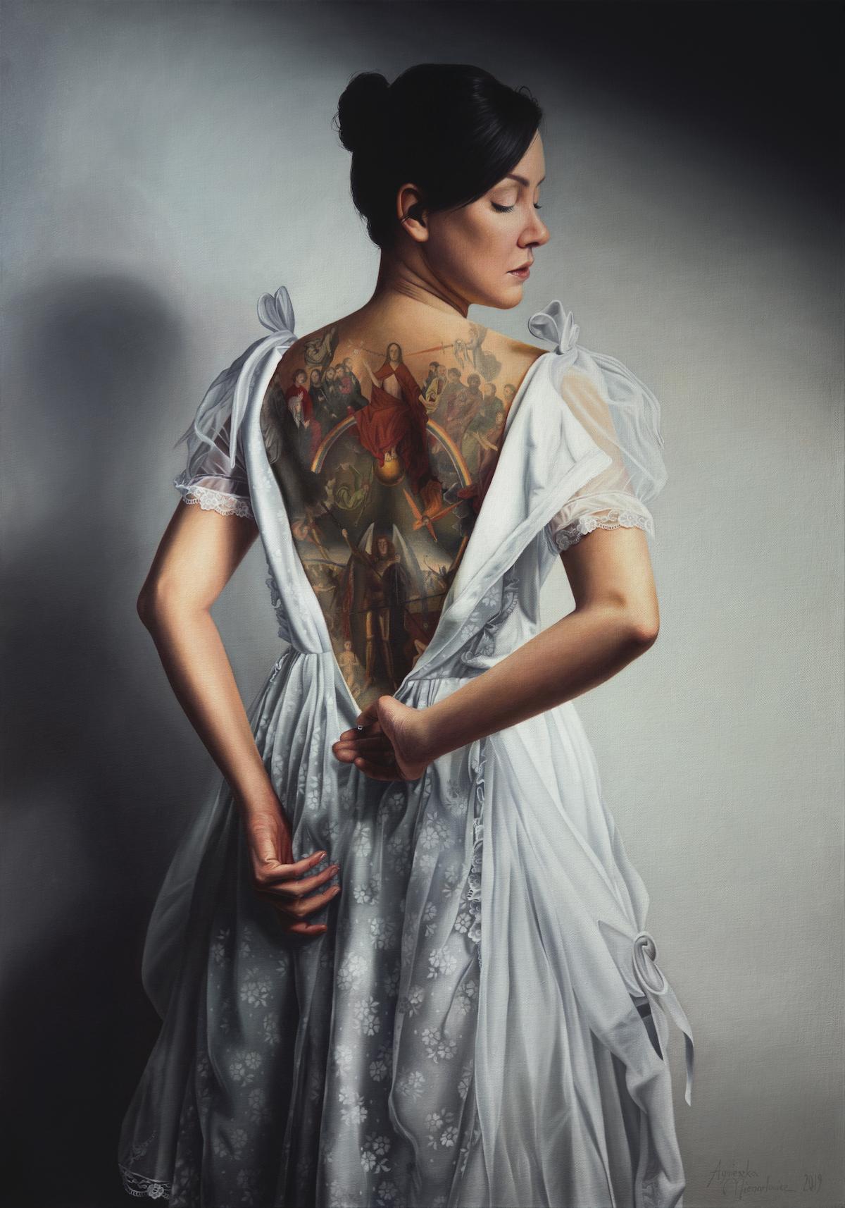 Oil Painting by Agnieszka Nienartowitz