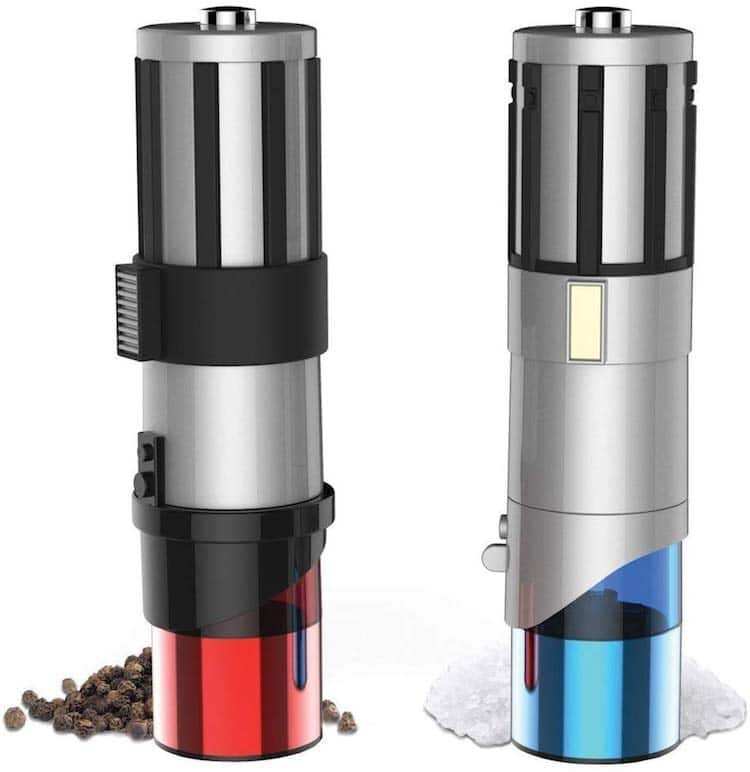 Lightsaber Salt & Pepper Shakers