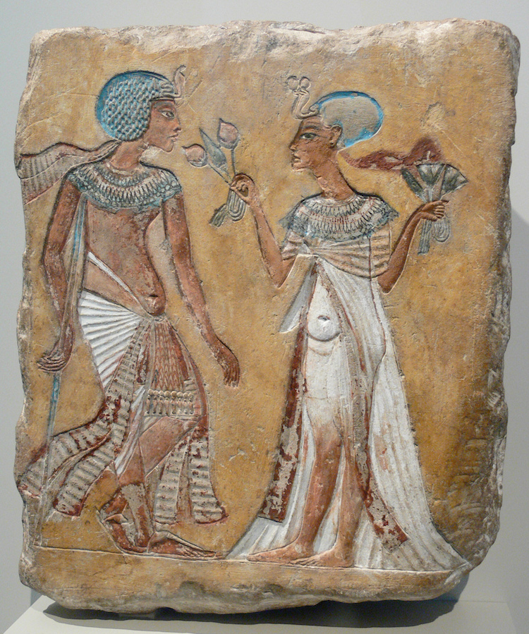 Amarna Relief of Royal Couple