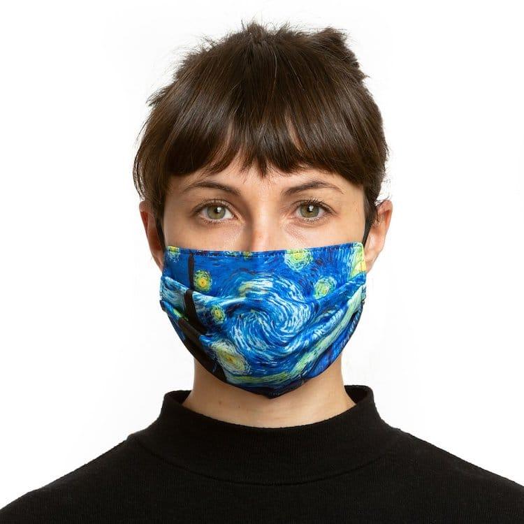 Vincent van Gogh Face Mask