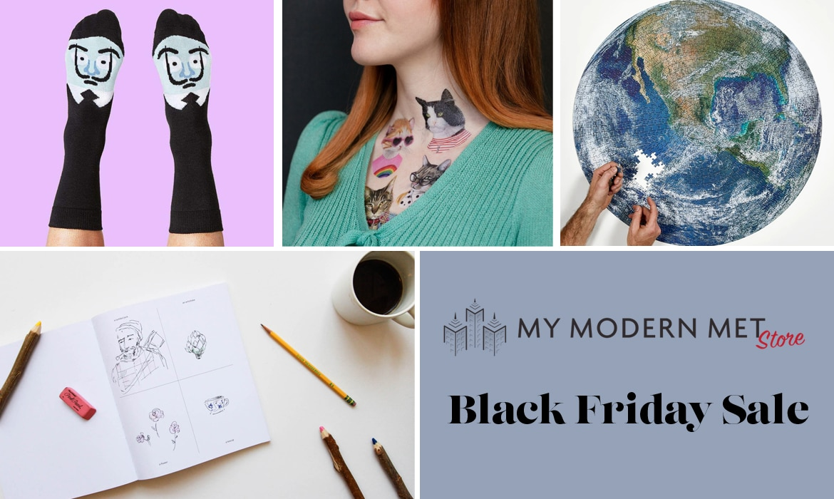 Get a Black Friday Discount When You Shop at My Modern Met Store
