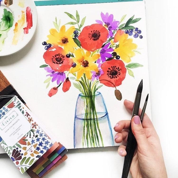 Viviva Colorsheets Watercolor Palette