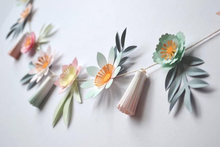 Floral Tassel