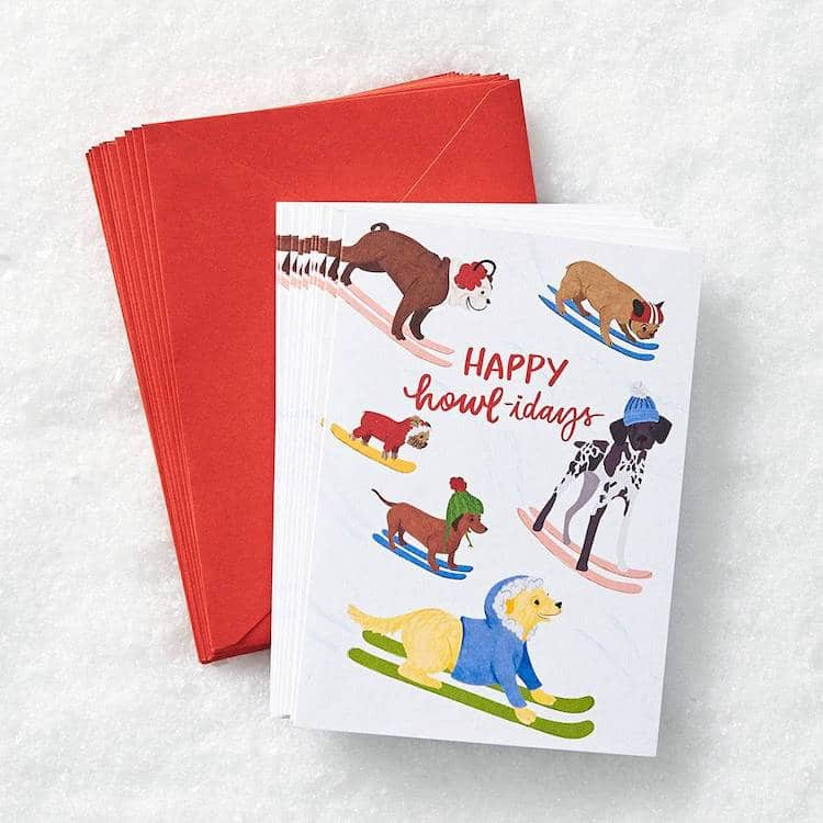 Funny Christmas Cards for Dog Owners