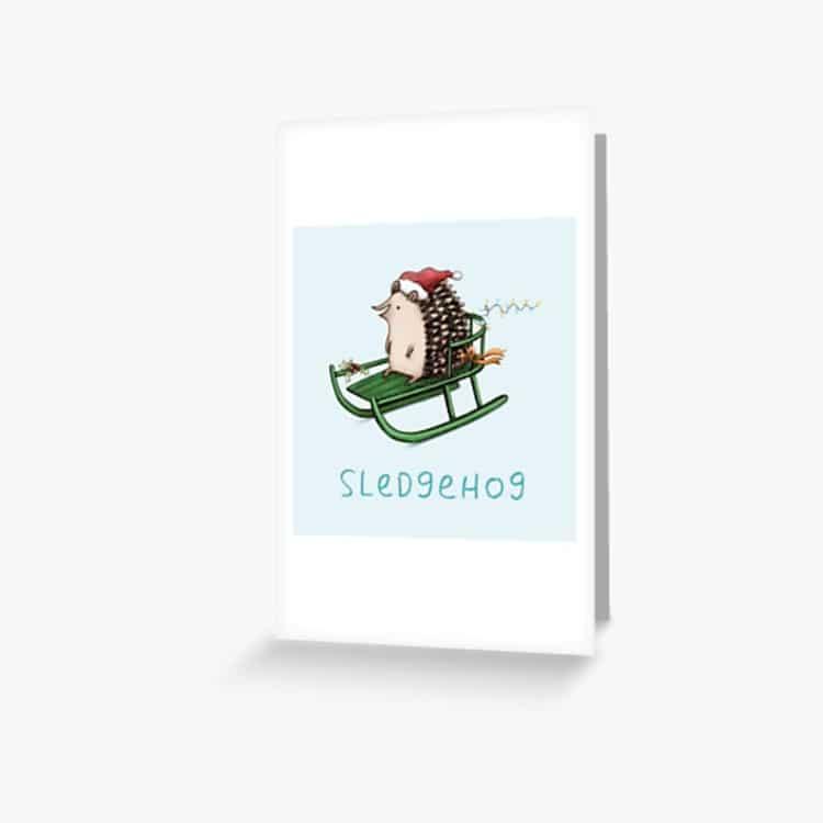 Creative Holiday Greeting Card