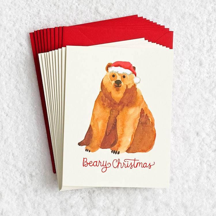 Holiday Card Puns