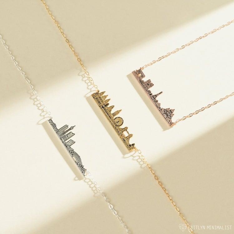 Custom City Necklace