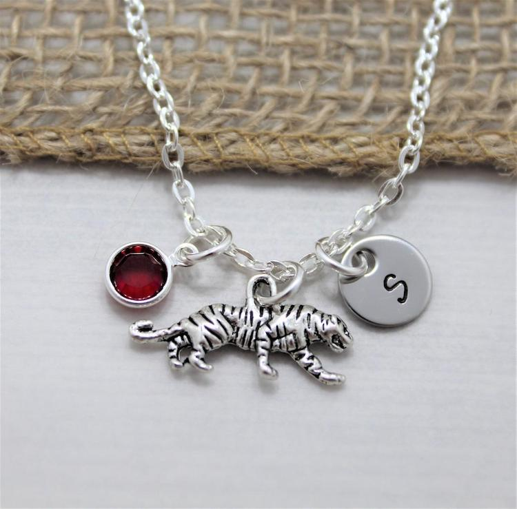 Customized Tiger Necklace