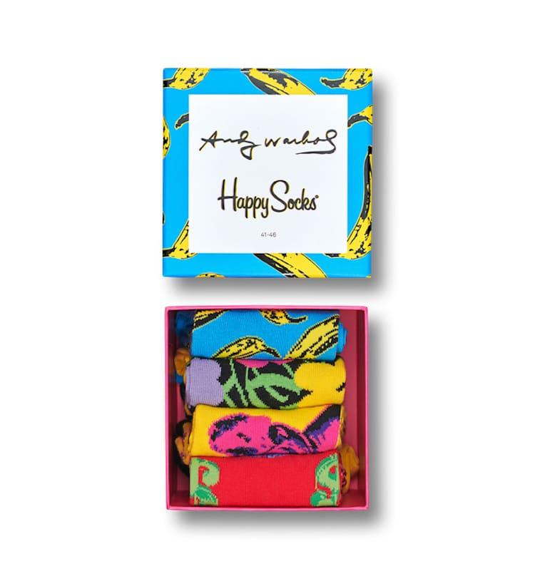 Calcetines de Andy Warhol