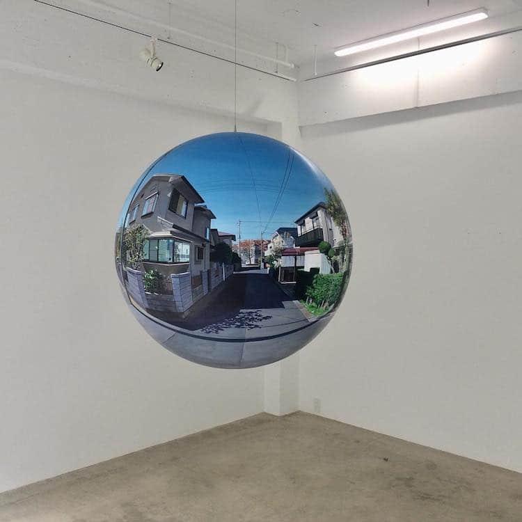 Pintura en esfera