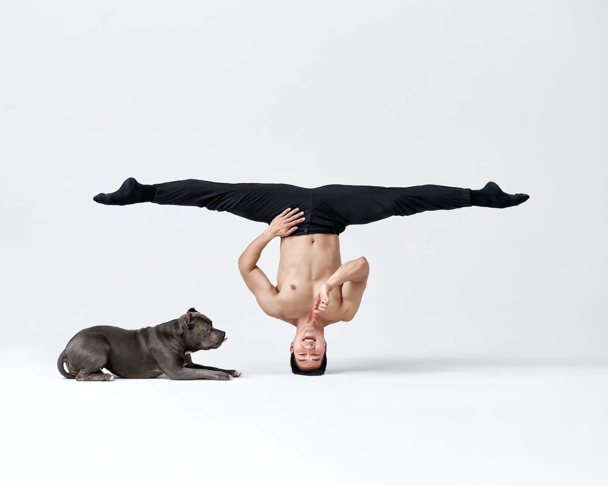 Dancer and Dog Photography