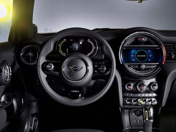 Interior of the MINI Cooper SE