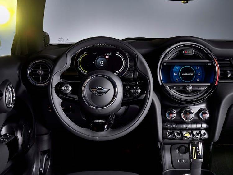 Interior del MINI Cooper SE
