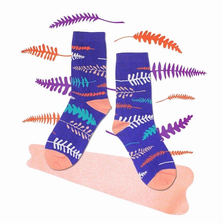 Fern Crew Socks