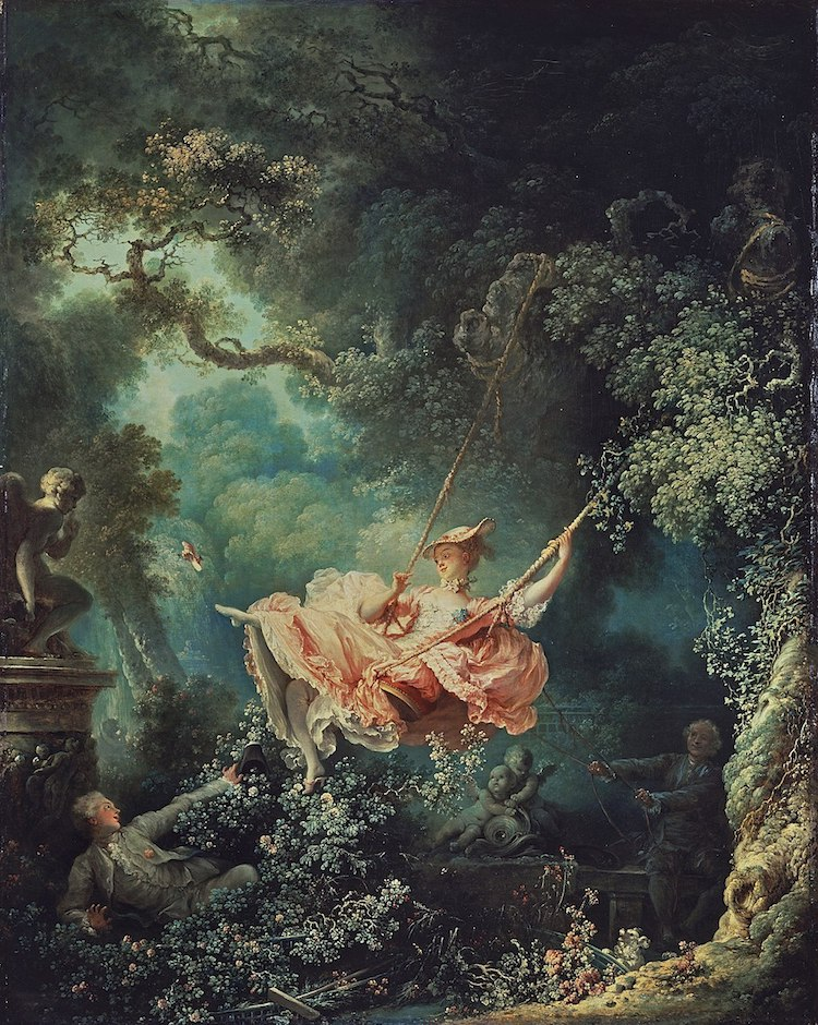 The Swing Painting By Fragonard