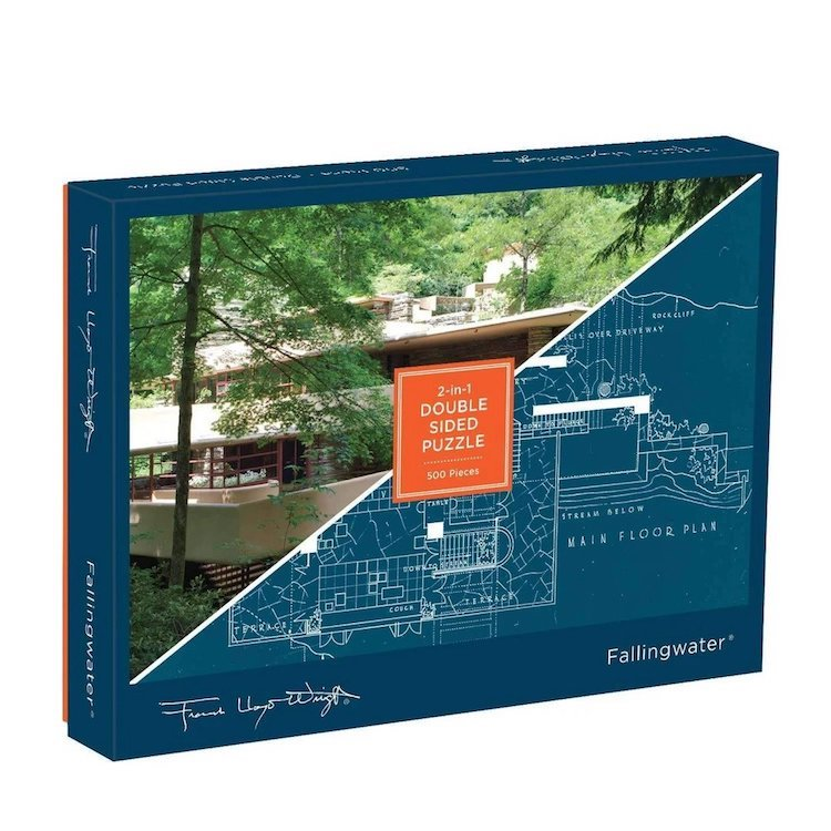 Fallingwater Double-Sided Puzzle