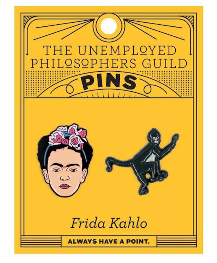 Frida Kahlo Enamel Pin Set