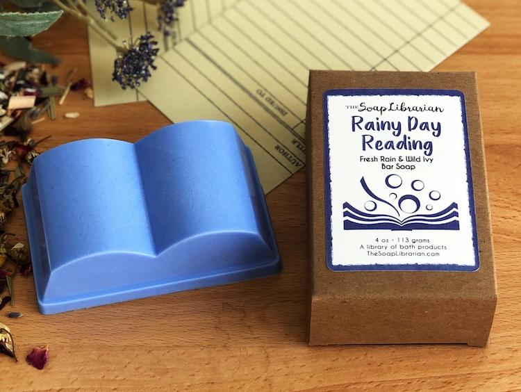 Book-Shaped Soap