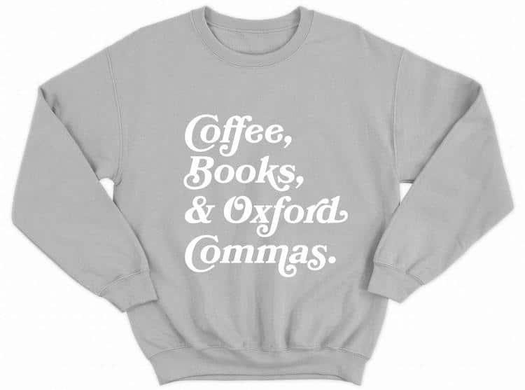 Book-Themed Sweatshirt