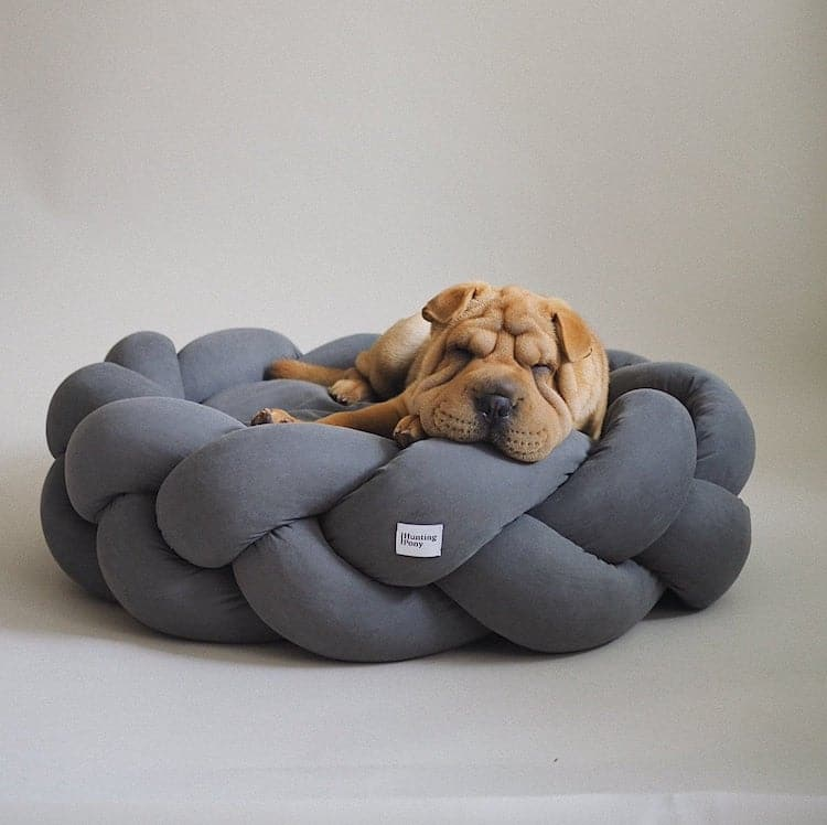 Braided Dog Bed