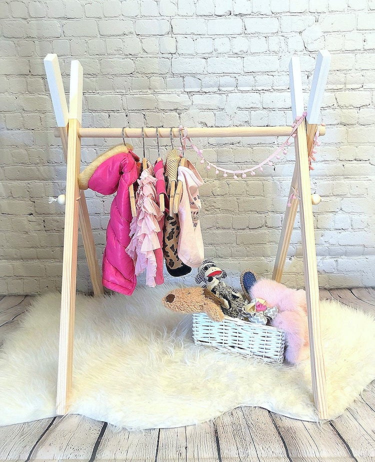 Dog Outfit Rack