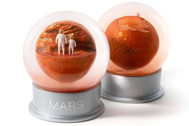 Gift for Guys: Mars Dust Globe