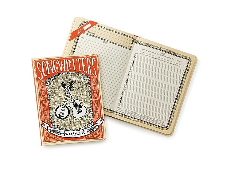 Songwriter's Journal - Cool Gifts for Musicians