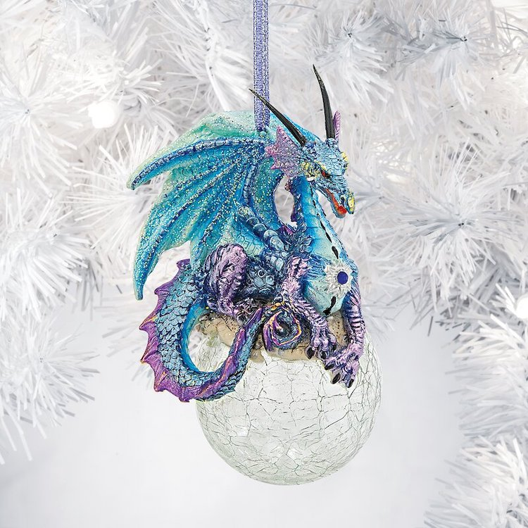 Gothic Dragon Ornament by Design Toscano